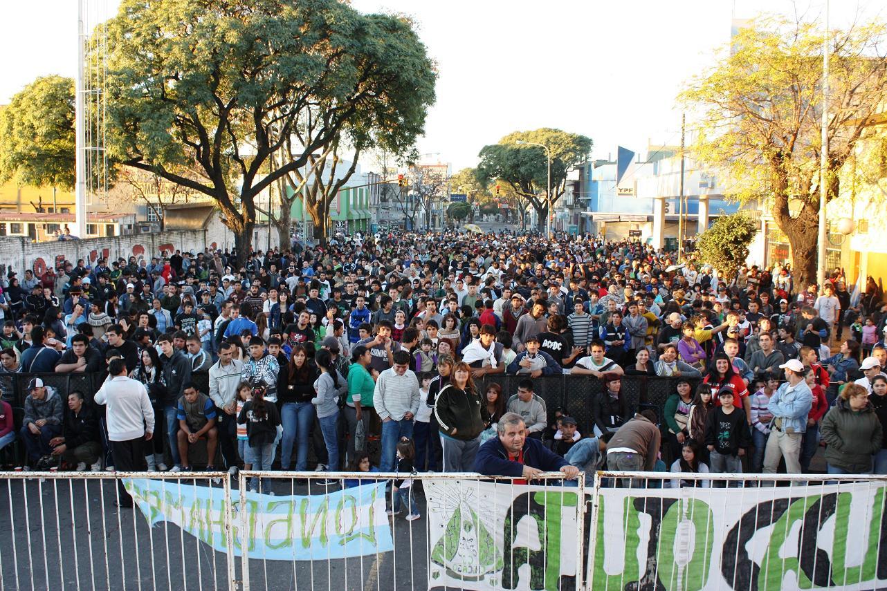 Festival de rock en Ciudad Oculta