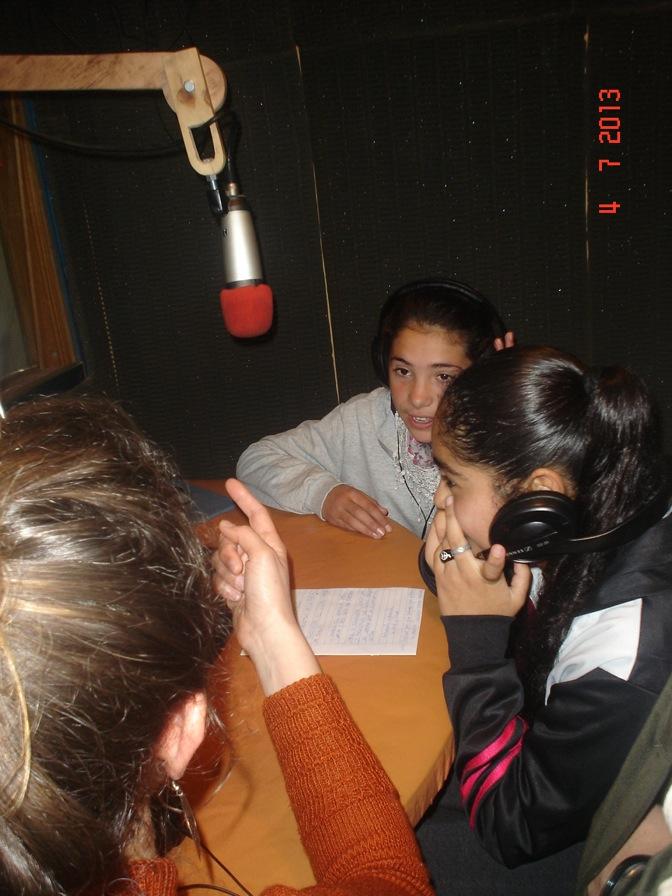 Los baruyeros visitaron La Pulseada Radio