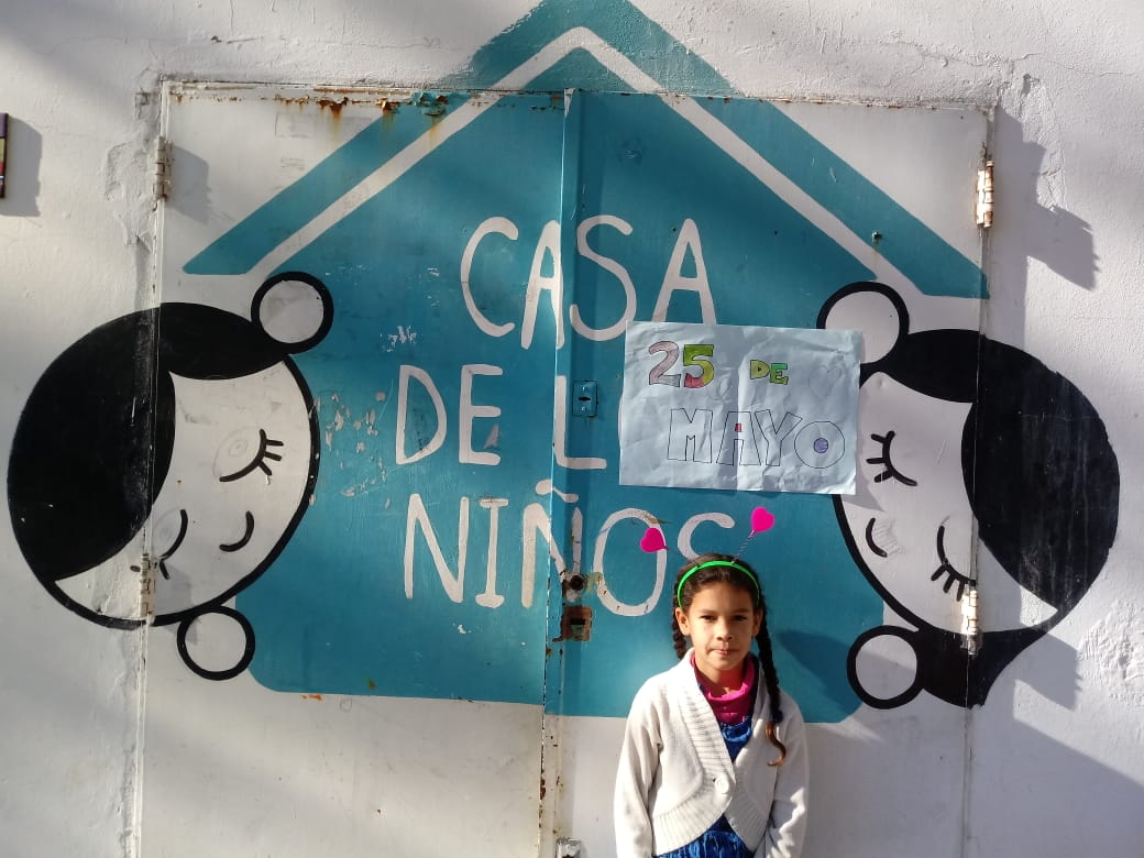 El 25 de Mayo en la Casa de los Niños